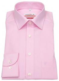 Hemd - Modern Fit - Chambray - rosé - ohne OVP