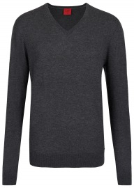Pullover - Level Five Body Fit - Merinowolle - anthrazit