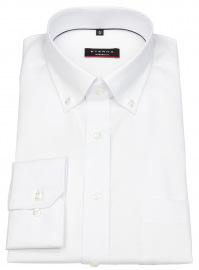 Hemd - Modern Fit - Oxford - Button Down - weiß