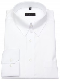 Hemd - Comfort Fit - Tabkragen - weiß
