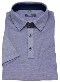 Poloshirt - Modern Fit - Piquée - blau - ohne OVP