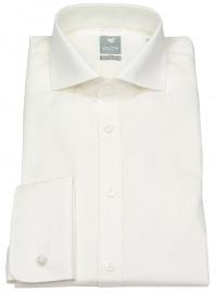 Hemd - Extra Slim - Haikragen - Umschlagmanschette - beige - ohne OVP