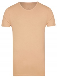 Level Five Body Fit - T-Shirt - Rundhals-Ausschnitt - caramel