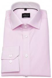 Hemd - Modern Fit - feine Streifen - rosé / weiß