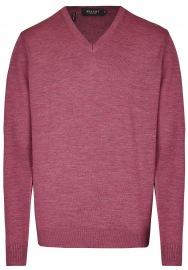 Pullover - Comfort Fit - V-Ausschnitt - Venice Pink