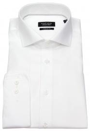 Hemd - Regular Fit - Haifischkragen - weiß - ohne OVP
