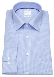 Hemd - Luxor Comfort Fit - Check - hellblau / weiß
