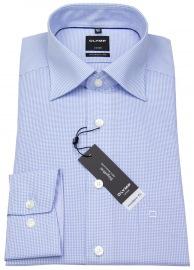 Hemd - Luxor Modern Fit - Check - hellblau / weiß