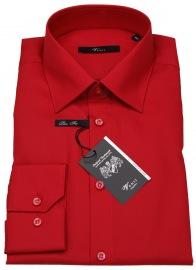 Hemd - Slim Fit - Kentkragen - rot - ohne OVP