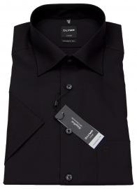 Kurzarmhemd - Luxor Modern Fit - schwarz