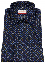 Hemd - Modern Fit - Print - mehrfarbig