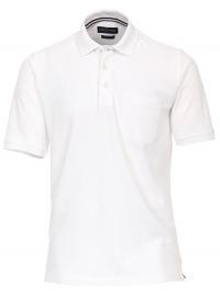 Poloshirt - Pima Cotton - weiß