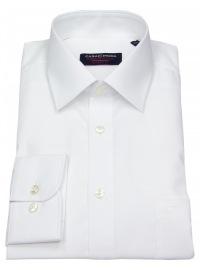 Hemd - Comfort Fit - weiß - extra langer Arm 72cm