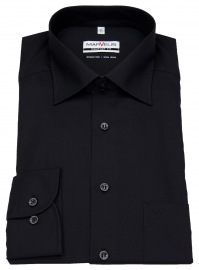 Hemd - Comfort Fit - schwarz