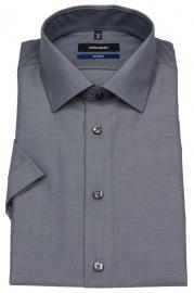 Kurzarmhemd - Tailored Fit - Kentkragen - anthrazit - ohne OVP