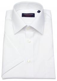 Kurzarmhemd - Comfort Fit - weiß