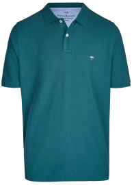Poloshirt - Casual Fit - Baumwolle - petrol