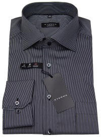 Hemd - Comfort Fit - Coteleté - schwarz / grau - ohne OVP