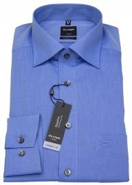 Hemd - Luxor Modern Fit - Chambray - blau