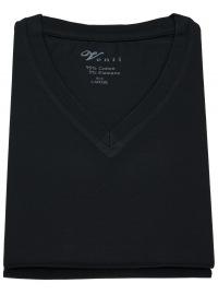 T-Shirt Doppelpack - V-Neck - schwarz - ohne OVP