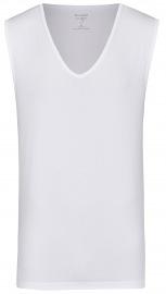 OLYMP Level Five Body Fit - Tank Top - tiefer V-Ausschnitt - weiß
