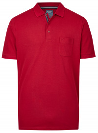 Poloshirt - Casual Fit - Active Dry - dunkelrot