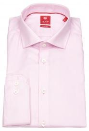 Hemd - Slim Fit - Haifischkragen - rosa