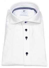 Hemd - Modern Fit - Haifischkragen - Explorer Shirt - weiß