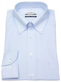 Hemd - Comfort Fit - Button Down Kragen - hellblau - ohne OVP