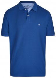 Fynch-Hatton Poloshirt - Casual Fit - Piqué - blau