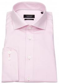 Hemd - Regular Fit - Haifischkragen - rosé