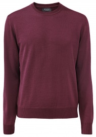 Pullover - Comfort Fit - Rundhals - berry smothie