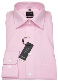 Hemd - Luxor Modern Fit - Chambray - rosé - ohne OVP