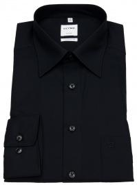 Hemd - Luxor Comfort Fit - Kentkragen - schwarz