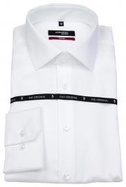 Hemd - Modern Fit - The Original - mit schwarzer Rose