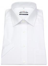 Kurzarm Hemd - Comfort Fit - weiß - ohne OVP