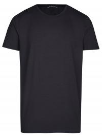 T-Shirt - Rundhals -Ausschnitt - schwarz