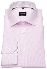 Hemd - Modern Fit - fein kariert - rosé / weiß