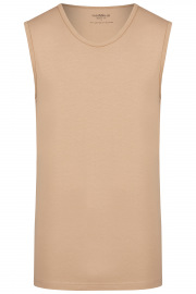 Tank Top Doppelpack - Body Fit - Rundhals - caramel