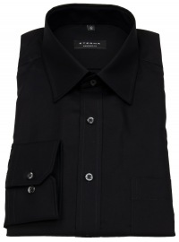 Hemd - Comfort Fit - Modern Kentkragen - schwarz - ohne OVP