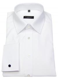 Hemd - Comfort Fit - Umschlagmanschette - weiß