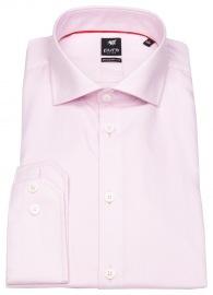 Hemd - Modern Fit - Haifischkragen - rosa