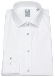 Hemd - Extra Slim - Kentkragen - weiß