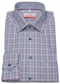 Hemd - Modern Fit - kariert - blau / weiß - ohne OVP