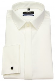 Galahemd - Tailored Fit - Kentkragen - creme