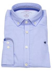 Hemd - Slim Fit - Button Down - Oxford - hellblau