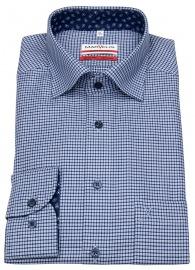 Hemd - Modern Fit - Under Button Down - dunkelblau / blau