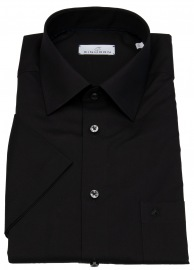 Kurzarmhemd - Modern Fit - Jamie - schwarz - ohne OVP