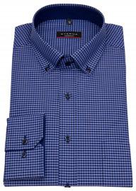Eterna Hemd - Modern Fit - Button Down - dunkelblau / blau