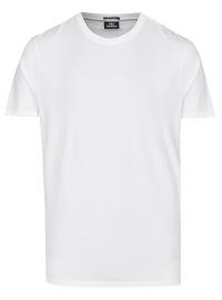 Strellson T-Shirt - Regular Fit - Rundhals-Ausschnitt - weiß